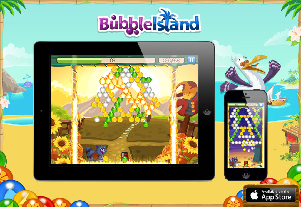 Bubble Island for Mobile
